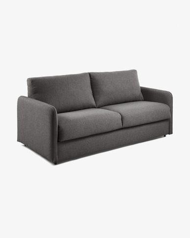 Kymoon sofa bed 160 cm visco graphite