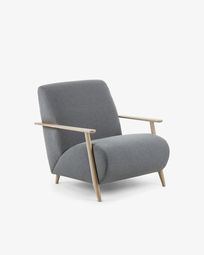 Grey Meghan armchair