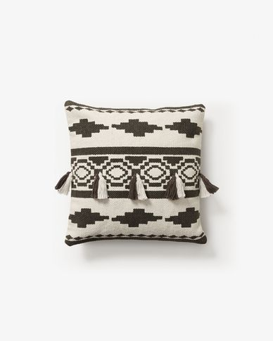 Cushion cover Seward white and black