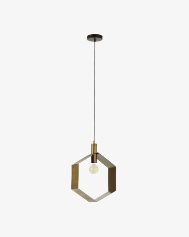 Lampe suspension Wist hexagone