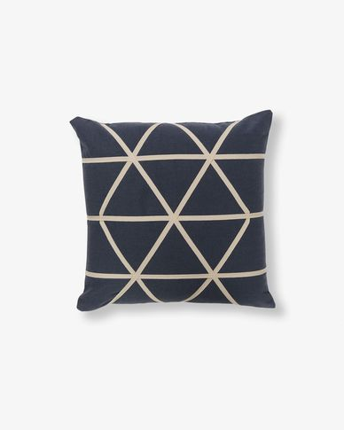 Yany cushion cover dark grey