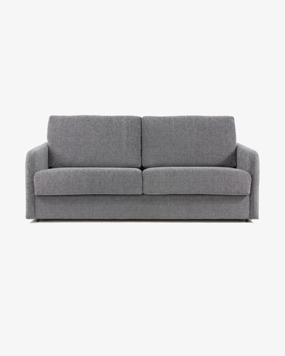 Kymoon sofa bed 160 polyurethane, grey