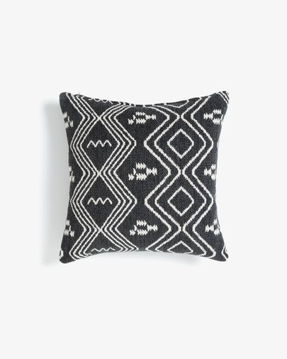 Eland cushion 45 cm quartz dark grey1