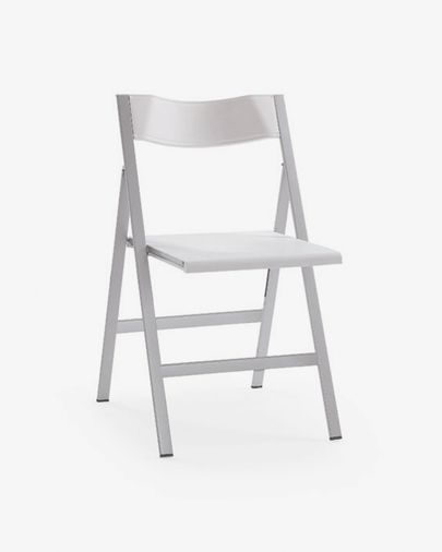 Greorg folding chair, white