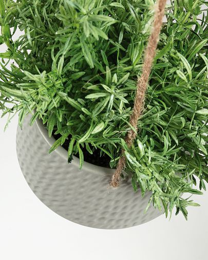 Fiore planter grey
