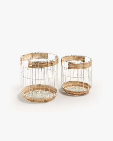 Fabergo set of 2 baskets