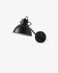 Offelis wall lamp black