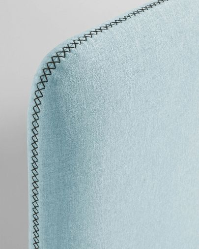 Light blue Dyla bed cover 90 x 190 cm
