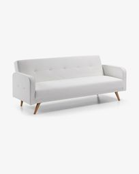 Roger sofa bed white