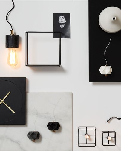 Lampe suspension Campus noir