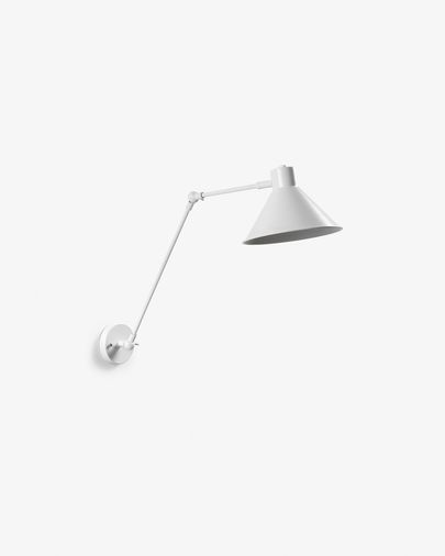 Dione wall lamp white