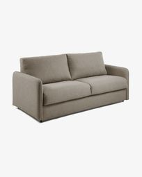 Kymoon sofa bed 160 cm visco brown