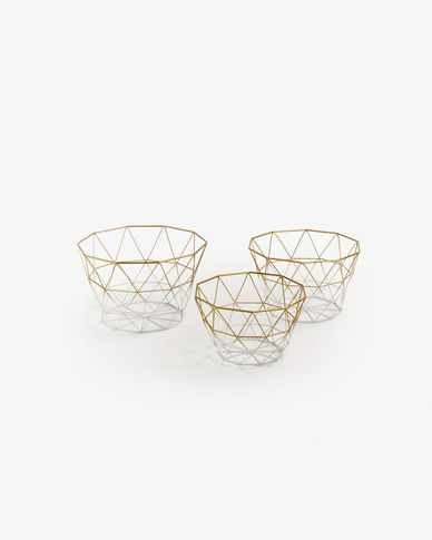 Cumber set of 3 baskets