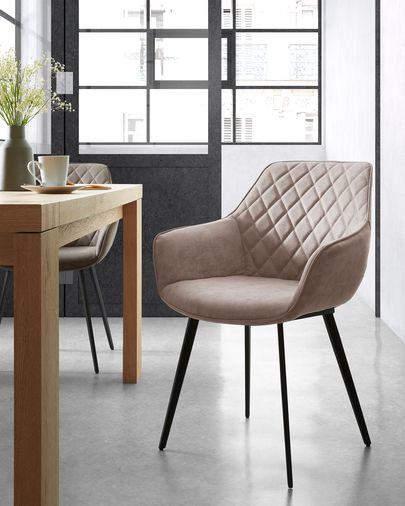 Amira chair taupe