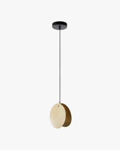 Monica pendant lamp brass