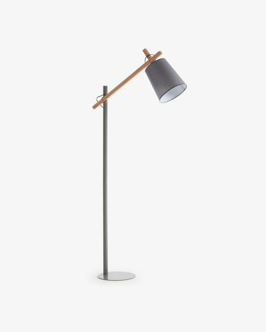 Kosta floor lamp, grey