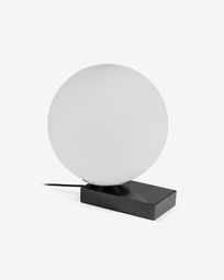 Manz black table lamp