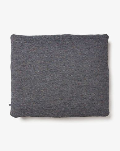 Dark grey Blok 60 x 70 cm cushion