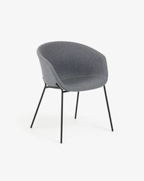 Grey Yvette armchair