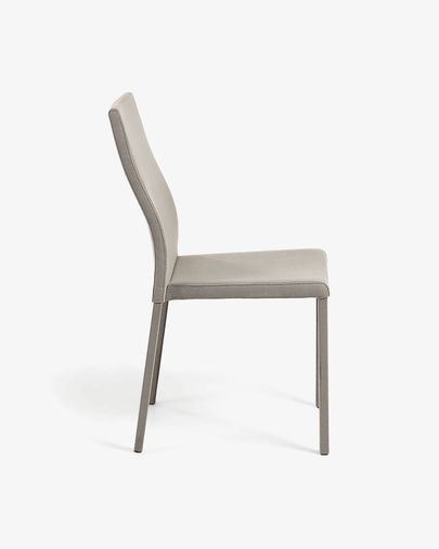 Abelle chair grey fabric