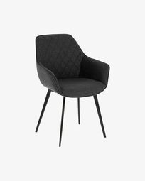 Amira dark grey chair