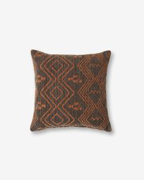 Eland cushion cover 45 x 45 cm quartz brown