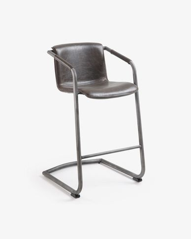 Dark brown Tribe barstool 89 cm