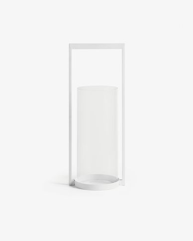 Sudema candle holder white