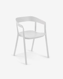 White Niels chair