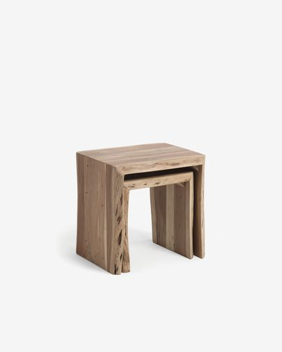 Zuleika set of 2 nesting tables