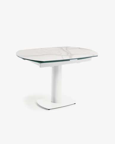 Rachel extendable table white 120 (180) x 90 cm
