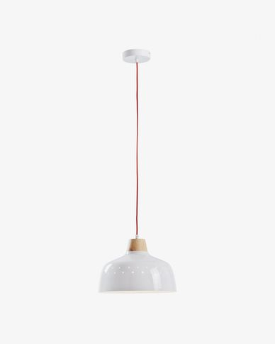 Lampe suspension Bits blanc