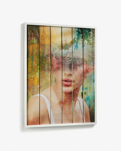 Arsdale wall picture white