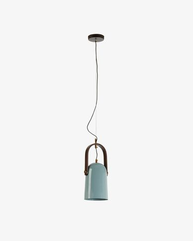 Lampe suspension Zanie bleu