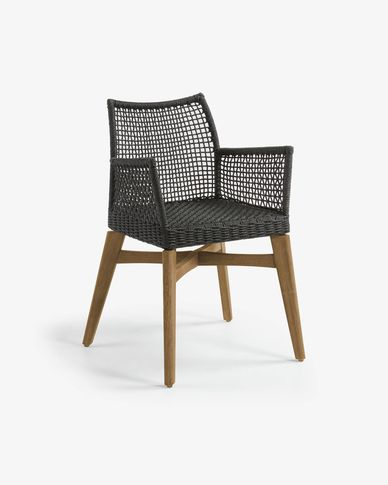 Dark grey Robert chair