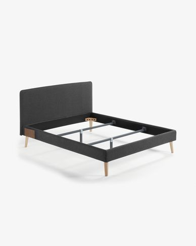 Dyla bed 160 x 200 cm grafiet