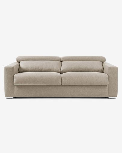 Kant sofa bed 140 cm viscoelastic beige
