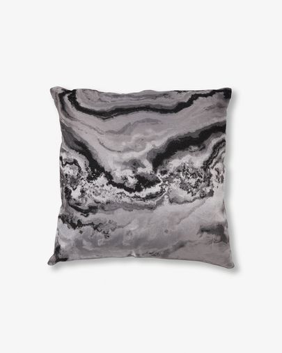 Grey Rocio cushion cover
