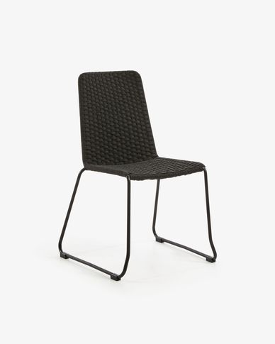 Dark grey Brianne chair