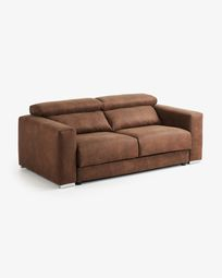 Atlanta sofa rust brown