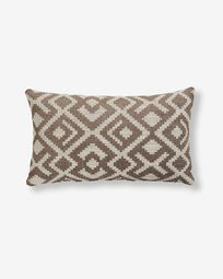 Malawi cushion cover 30 x 50 cm brown