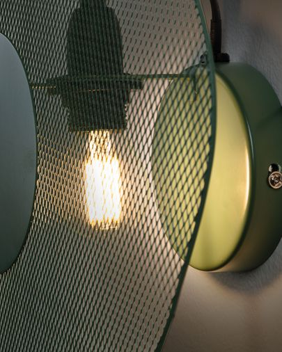Peggy wall lamp 35 cm green