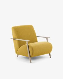 Mustard Meghan armchair natural finish