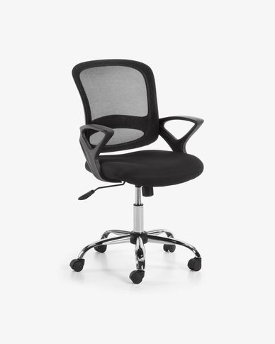Black Tangier desk chair
