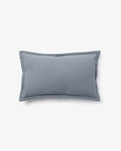 Lisette cushion cover 30 x 50 cm in blue
