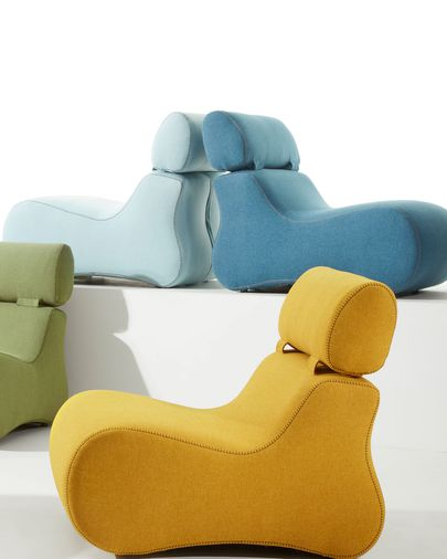 Mustard Club armchair