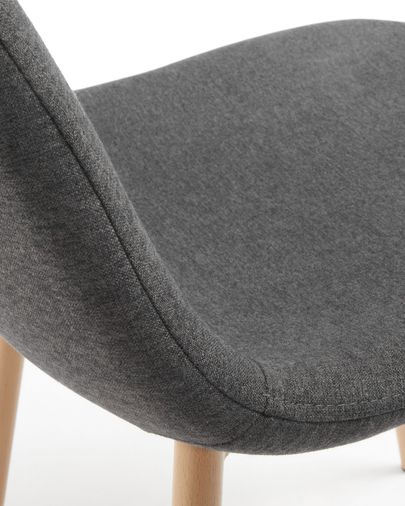 Yaren chair dark grey