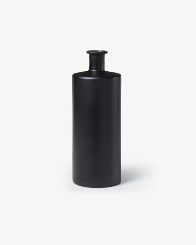 Edition vase 40 cm black