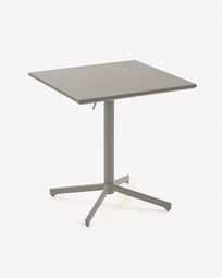 Table Advance 70 x 70 cm gris mat