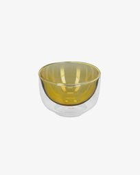 Braulia light yellow bowl